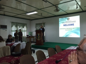 Comparative Studies Visit to The Philippines, 20-27 June 2015