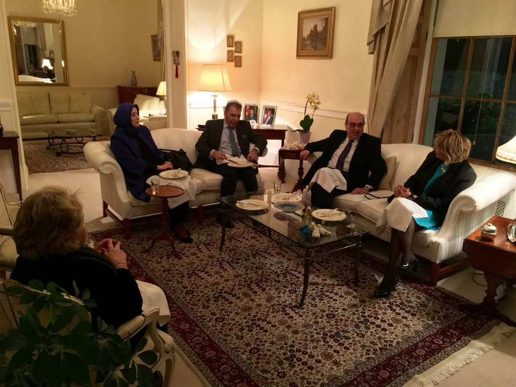 Participants meeting with His Excellency Turkish Ambassador to Ireland, Necip Egüz.
