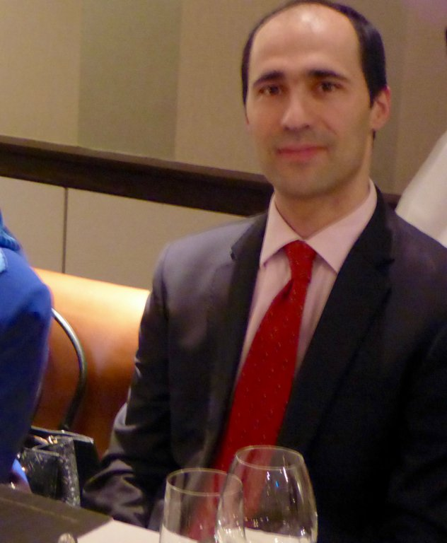 Mr Zeki Güler of the Turkish Embassy in Dublin meets with participants at the Shelbourne Hotel in Dublin.