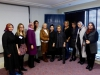DPI participants with Ms Jane Morrice at the Europa Hotel in Belfast.