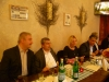 Roundtable discussion at Baba Restaurant