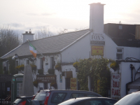 Dinner at Johnnie Fox's Traditional Restaurant, Dublin Mountains