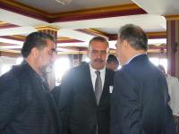 DPI Director Kerim Yildiz, Burhan Kayatürk, AK Party Member of Parliament and Kadri Salaz
