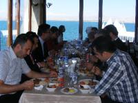 Participants having lunch at the Merit Sahmaran hotel