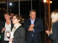 Nese Akkerman of the British Embassy in Ankara, DPI's Penny Green, Kerim Yildiz, and Eleanor Johnson