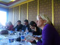 Member of Parliament for CHP, Melda Onur