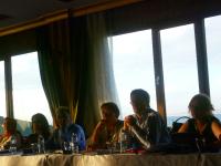 Ceren Sözeri, DPI Director Kerim Yildiz, Nese Akkerman and Peter Spoor, Esra Nurel