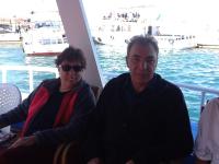 Asli Tunç and DPI Director Kerim Yildiz