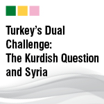 Turkey's Dual Challenge: The Kurdish Question and Syria