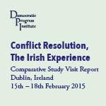 Conflict Resolution: The Irish Experience – Women's Roundtable, February 2015