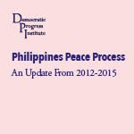 Philippines Peace Process- An Update From 2012-2015