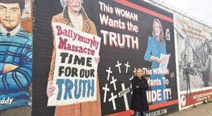 Belfast'ta duvarla gelen barış