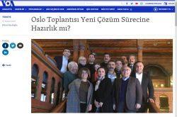 """""""Oslo Toplantısı Yeni Çözüm Sürecine Hazırlık mı?"""" Amerikanesi, November 27, 2018"""