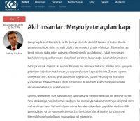 """""""Akil insanlar: Meşruiyete açılan kapı"""" Kurdistan24, November 28, 2018"""